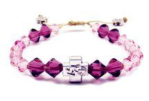 Crystal Prayer Bracelets (Swarovski Elements) / Our all new crystal prayer bracelets made with Swarovski elements.