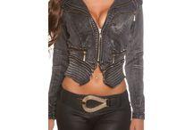 Dámske rifľové bundy / Dámske rifľové bundy, ktoré sa perfektne hodia k džínsom...