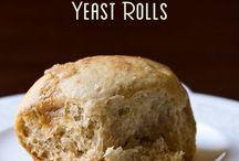 Bread and Roll ideas! / Recipes for breads and rolls to try! / by Sandra N Dennis Doyle