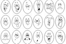expressions face a colorier