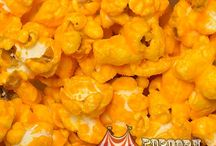Carole's Best Cheddars / Our Carole's Best Cheddar popcorn flavors include rich, delicious cheddar smothered over sweet and salty kernels. Nuts about nuts or like it hot? We've got you covered with nutty combinations and potent peppers.