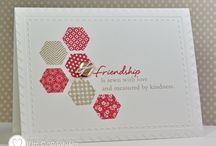 Hexagon Cards / by Judy1223