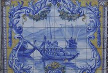 azulejos panel / ceramic