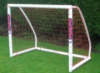 Samba Goals / Samba goals are one of the most popular brands of soccer goal post in the UK. Samba goals are used as home goals, garden goal, goalposts for clubs and soccer coaching academies and even professional training goals. Samba goals are great!
