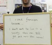 I NEED feminism because... / Here is the counter view of those who have taken on feminism's ideology
