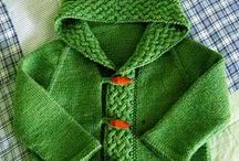 Knitting for the kids / Knitted, crochet and sewed.