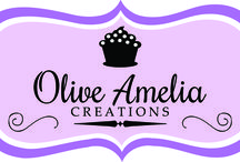 Cakes, Cupcakes & Sweet Treats / Olive Amelia Creations specialize in custom cakes, cupcakes and sweet treats.   www.OliveAmeliaCreations.com