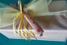 my creation / Confezioni regalo e decorazioni per ogni occasione, create da me.