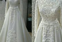 Moslem wedding gowns