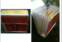 DIY projects / It is an easy cards which you can make at your home.