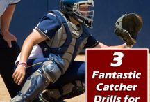 Softball catchers