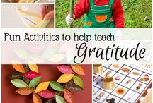 THANKSGIVING / Thanksgiving activities for kids, thanksgiving crafts for kids, teach kids how to be grateful