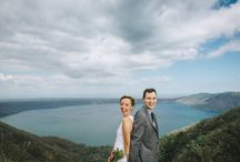 Brad & Nicole / Brad & Nicole's wedding photos shot by Hitch and Sparrow Wedding Co. in Laguna de Apollo, Nicaragua