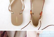 Sandale a pod.