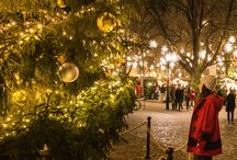 Christmas & Winter Travel Around the World / Traveling during winter and holidays
