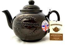 Brown Betty Embossed Teapot