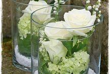 Blomster til bryllupet