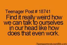 Teenager post...