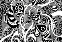 Zentangles / Source of inspiration / by ♔†PICKED FOR YOU Eℓɨzaℬetɦ Lane-Allen †♔