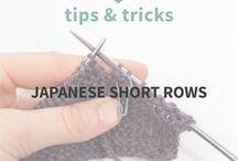 Knitting - short rows