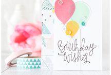 SSS card kit ideas / by Melissa Flieg