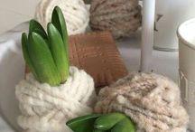 Groen decoratie | Green decoration inspiration / groen decoratie voor in en om huis