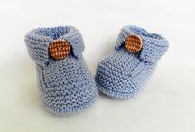 Пинетки, носочки, тапочки / Вязание для малышей