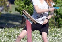 Kristen Stewart / Kristen with Orange Hair..