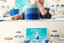 Pinning Party: Ombre Blue