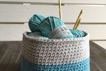 Couvertures tricotées