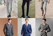 trajes y complementos