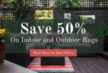 Indoor and Outdoor Rugs / Get up to 50% OFF on Indoor and Outdoor Rugs.