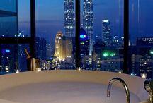Bathrooms / Bathtub, Shower, Basin, Tiles