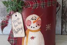 Primitive Christmas