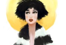 Fashion Illustration / Lanna Lines