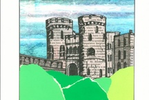 ArtEd- Castles, dragons