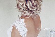 Bryllupsfrisyrer