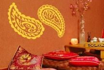 Exotic Decals / Ornamental, Tribal, Exotic - stylize and enhance the surface of your interiors with these decorative elements.