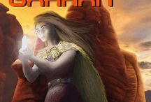 Gods of Garran / Images that have to do with my Scifi novel, the Gods of Garran.