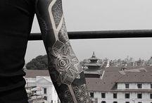 Mein Tattoo / Blackwork/Maouri