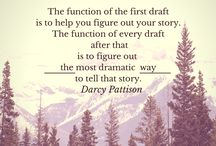 Writing the First Draft / The first draft of your #book provides the scaffolding on which you can #write you novel. Here are pins all about writing first drafts.