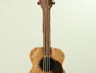 chitarra in pannolenci