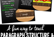 Literacy paragraphs