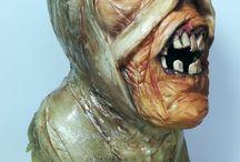 Mummy by Egypt Land of Mystery Collaboration / #sculpture #mummy #sugar #3d #cake#modelpaste