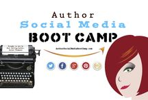 Author Social Media Boot Camp @ASMBootCamp / Helpful Tips for Authors!  / by Rachel Thompson