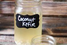 Probiotics drinks / Kefir and Kombucha