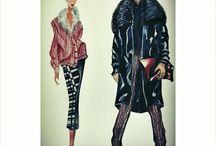 my fashion illustration / #fashion #illustration