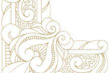 Décorations arabesque / Motifs d'inspiration gothique