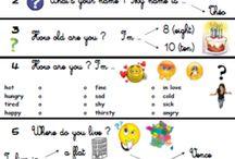 ENGLISH - SPEAKING/WRITING