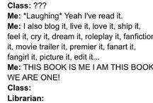 Book addictions<3